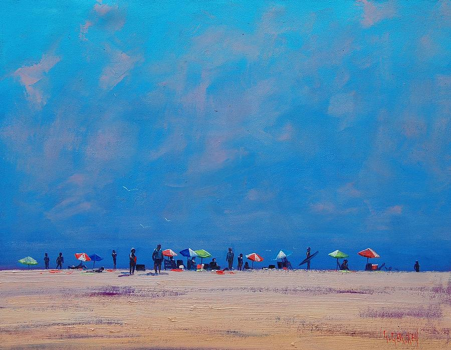 Seascape Painting - Summer Sky by Graham Gercken
