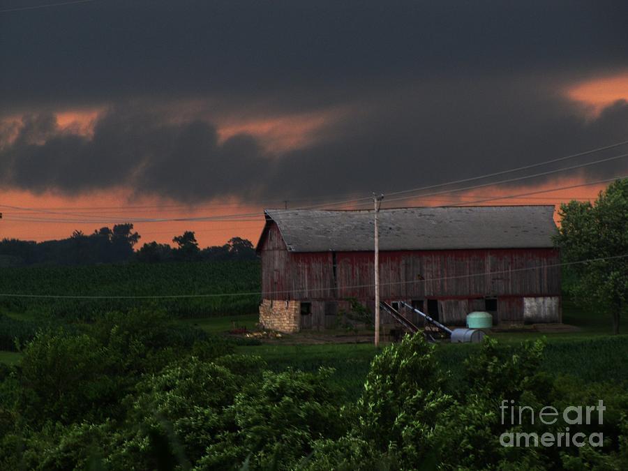 Summer Storm Brewing Photograph