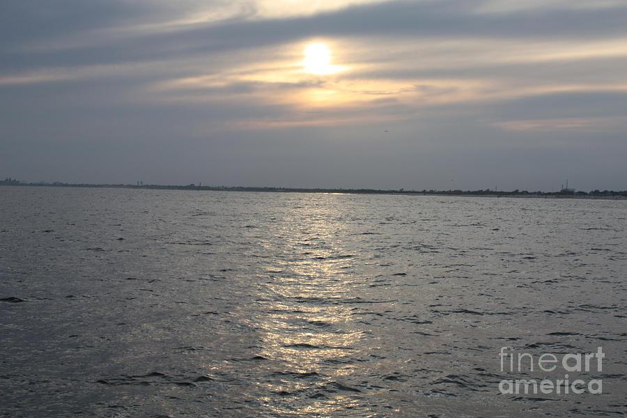 Summer Sunset Over Freeport Photograph - Summer Sunset Over Freeport by John Telfer
