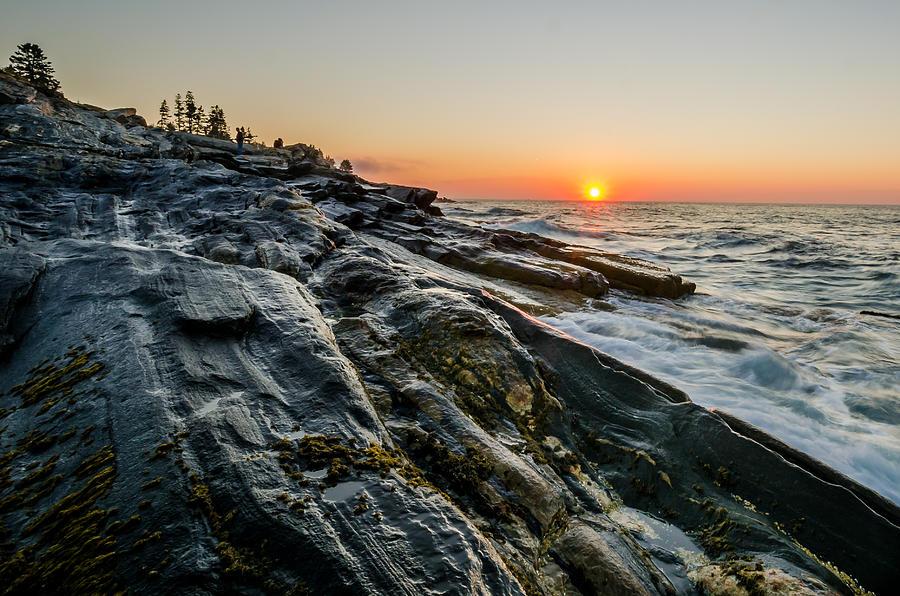Sun Breaks At Pemaquid Point Photograph