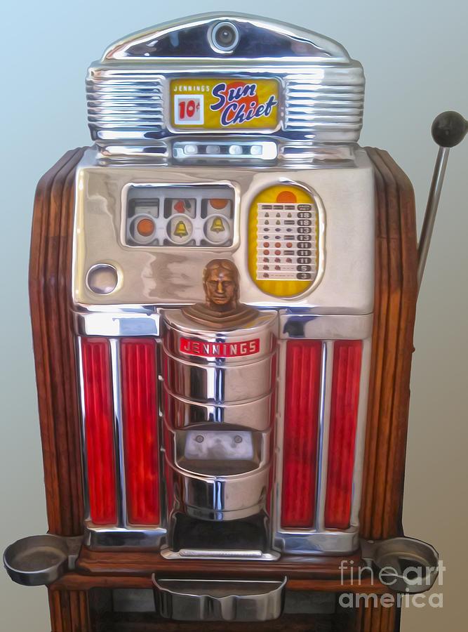 sun chief slot machine