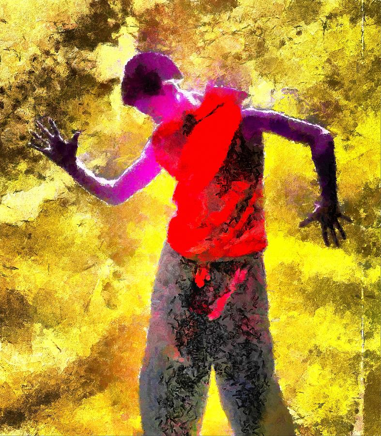 Sun Dance Digital Art