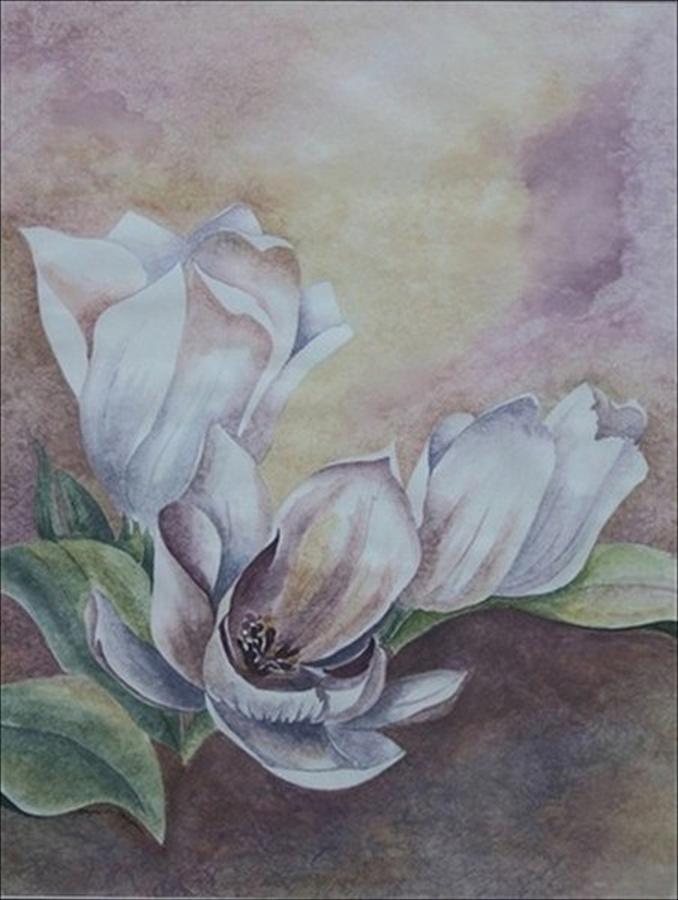 Sun Tulips Painting