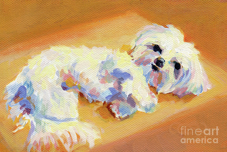 Sunbeam Painting  - Sunbeam Fine Art Print