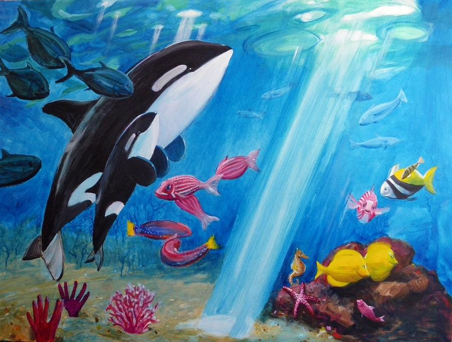 Famous Shark Painting