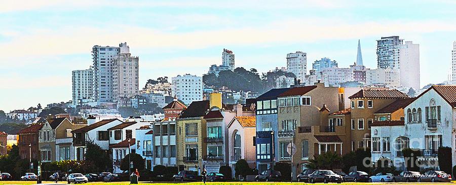Sunday At Marina Green Park Fort Mason San Francisco Ca Painting