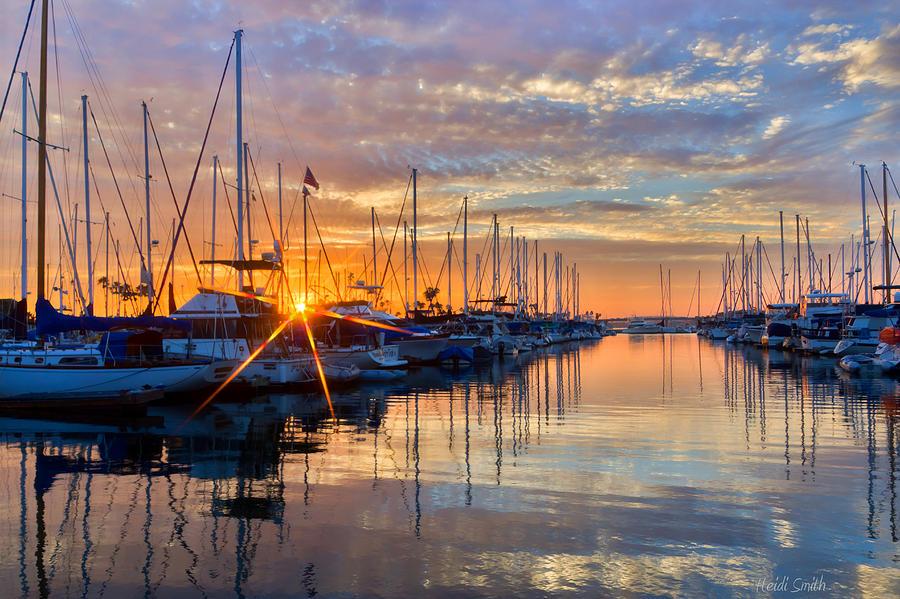 Star Photograph - Sundown by Heidi Smith