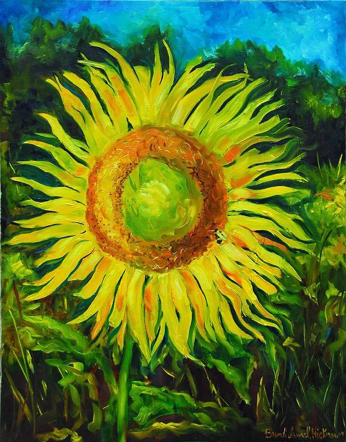 Sunflower Painting - Sunflower by Brandi  Hickman