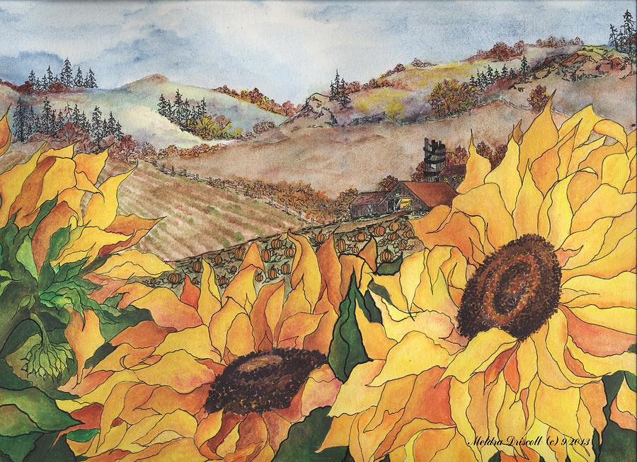 Sunflower Serenity Painting