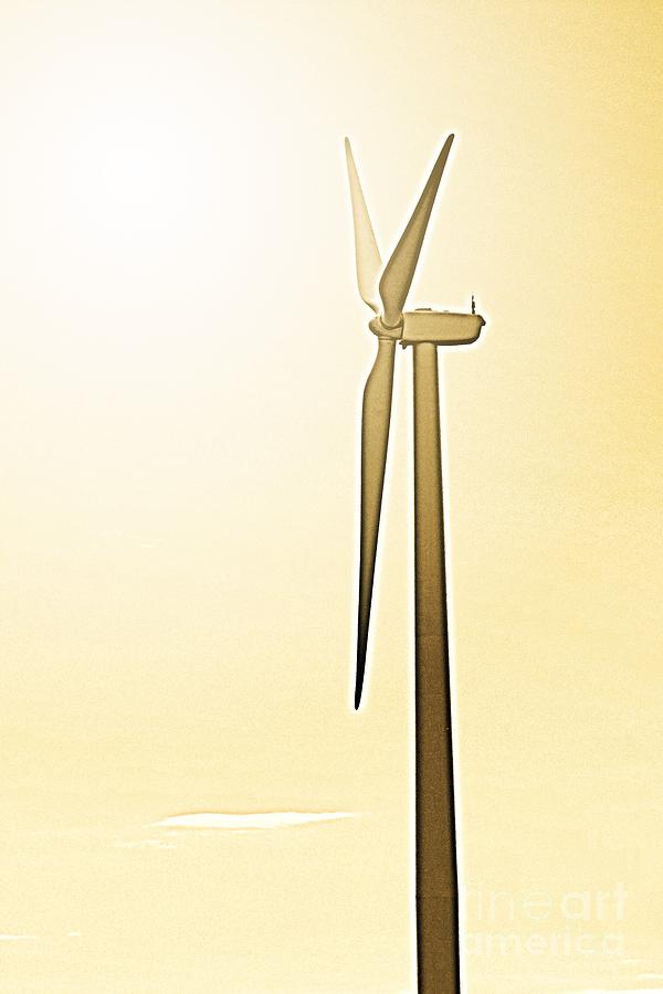 Sunglow Turbine Photograph