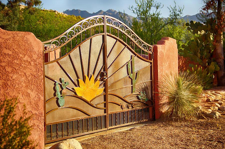 Sunny Gate Photograph