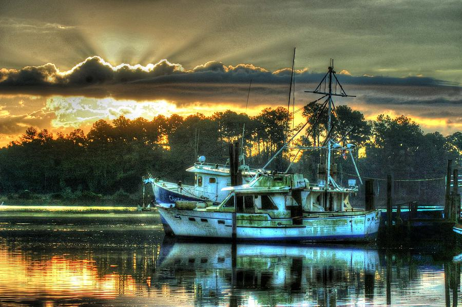 Alabama Digital Art - Sunrise At Billys by Michael Thomas