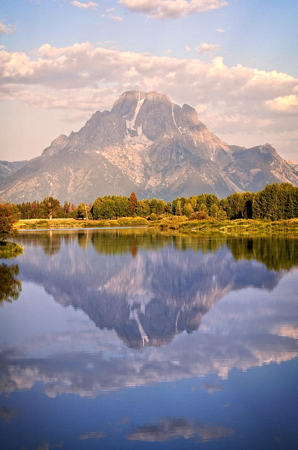 Sunrise At Oxbow Bend 2 Photograph  - Sunrise At Oxbow Bend 2 Fine Art Print