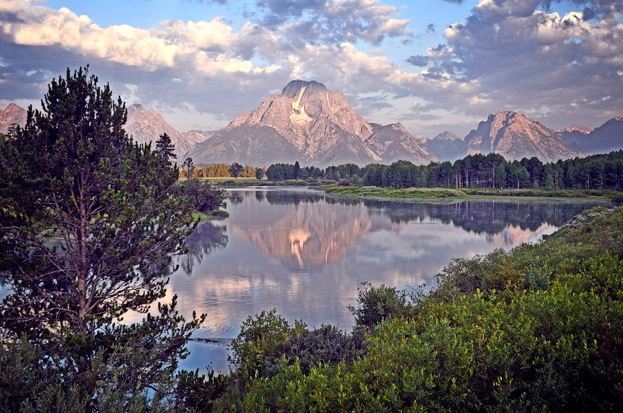 Sunrise At Oxbow Bend 4 Photograph  - Sunrise At Oxbow Bend 4 Fine Art Print