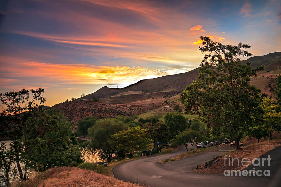 Sunrise At Woodhead Park Photograph  - Sunrise At Woodhead Park Fine Art Print