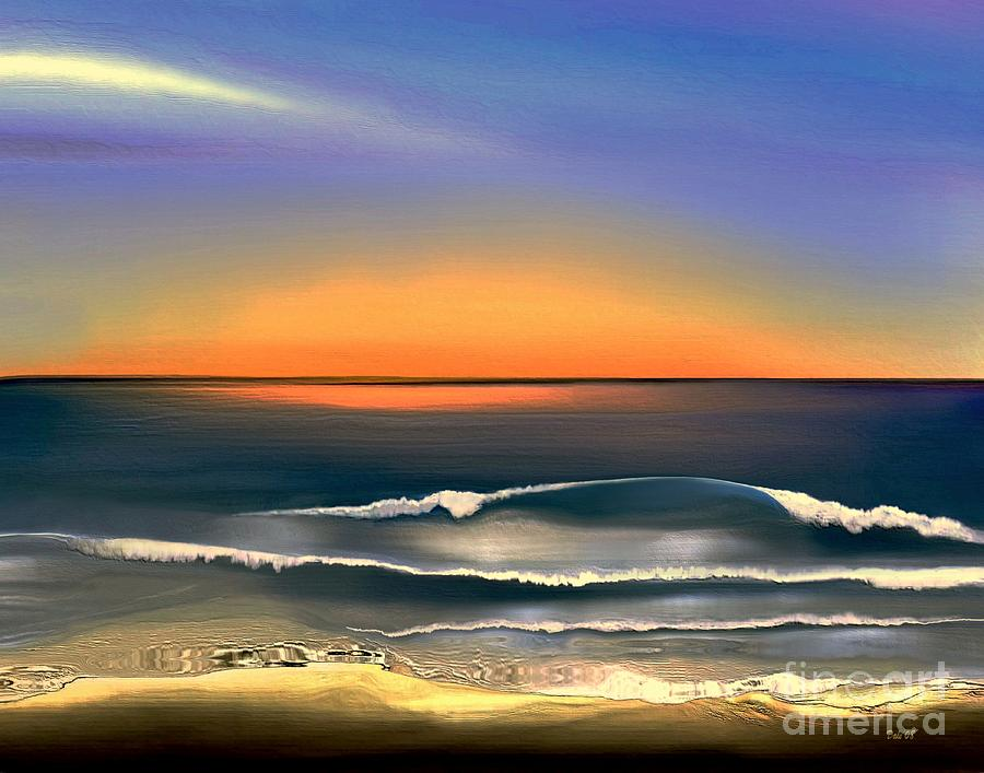 Sunrise Digital Art  - Sunrise Fine Art Print
