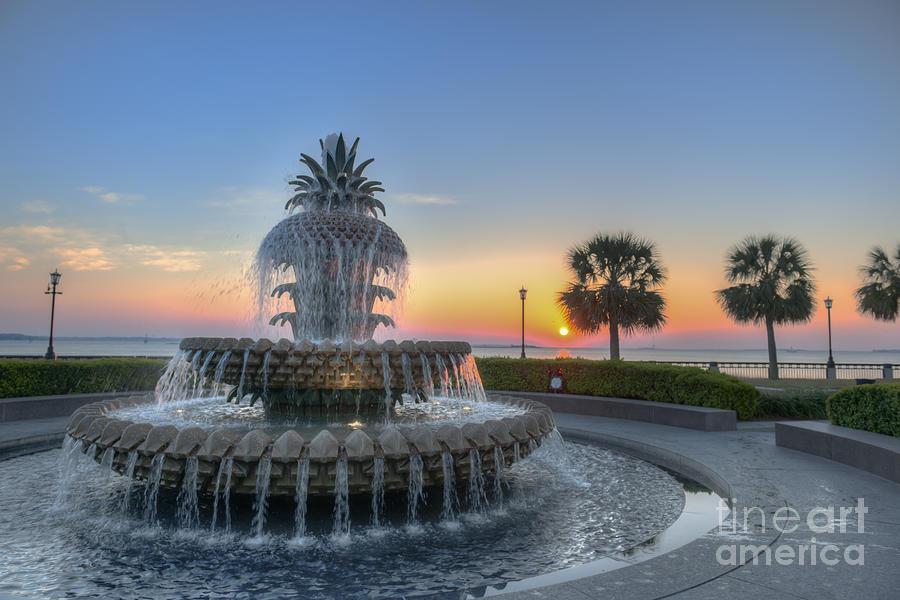 Sunrise In Charleston Photograph