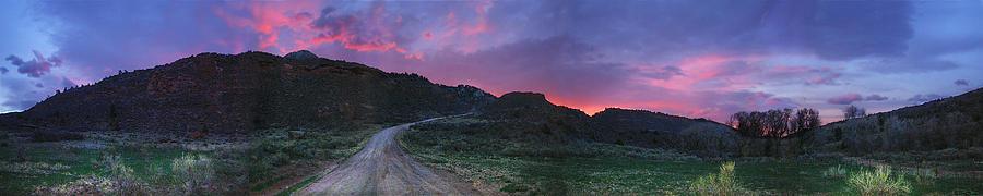 Sunrise In Colorado Photograph