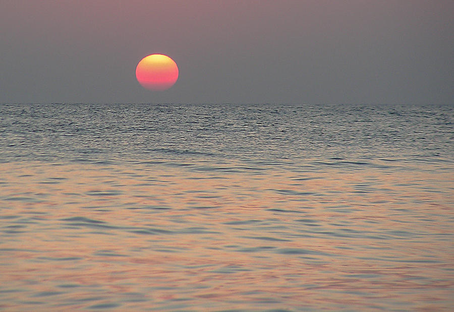 Sunrise In Crete Photograph