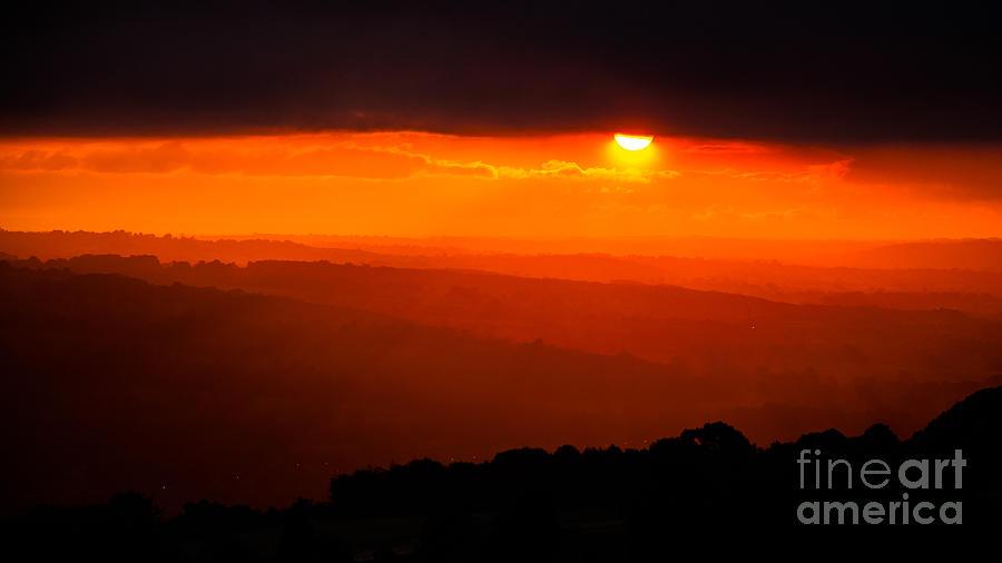 Sunrise In Ilkley Photograph