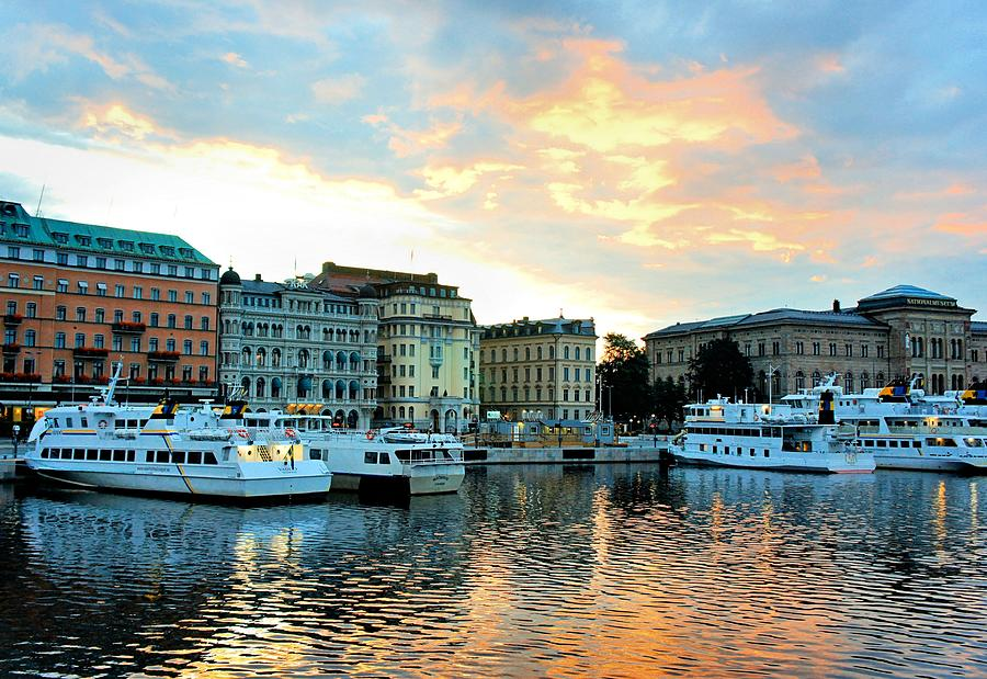 Sunrise In Stockholm Photograph