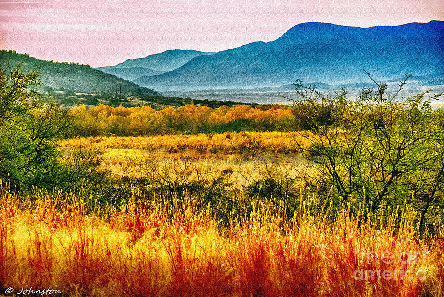Sunrise Photograph - Sunrise In Verde Valley Arizona by Bob and Nadine Johnston