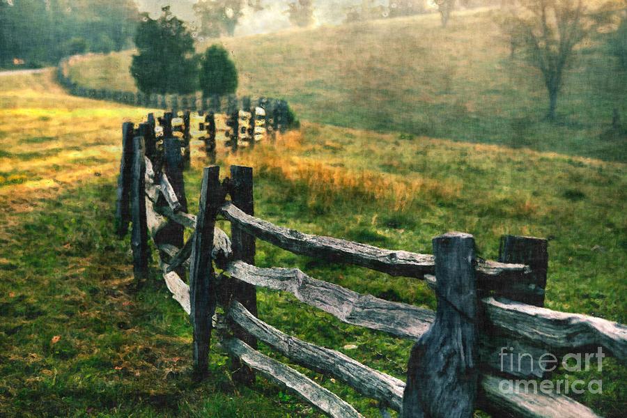 Sunrise Meadow - Blue Ridge Parkway II Painting