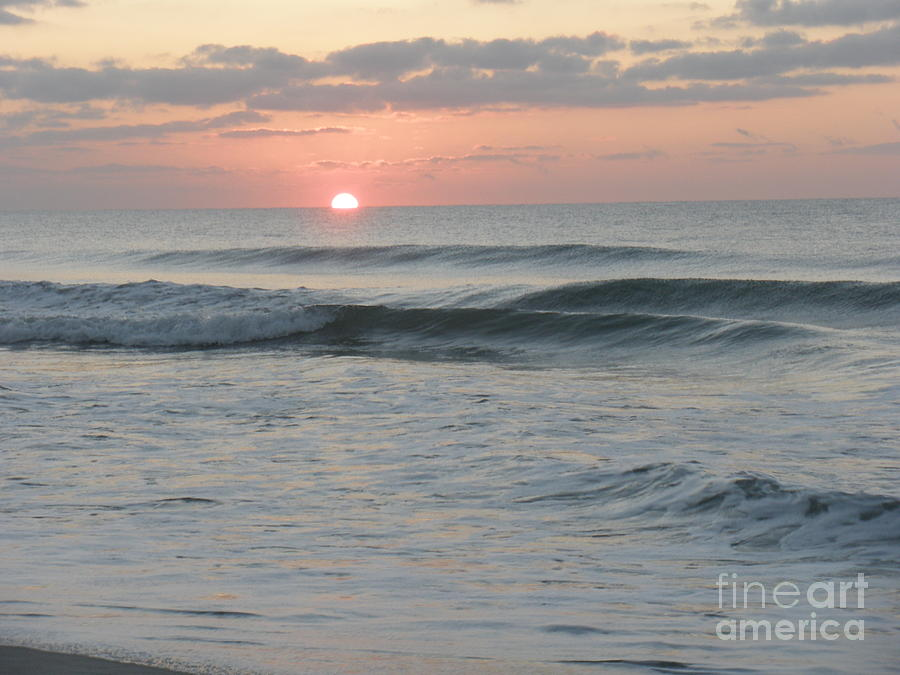 Sunrise Over Atlantic Photograph  - Sunrise Over Atlantic Fine Art Print