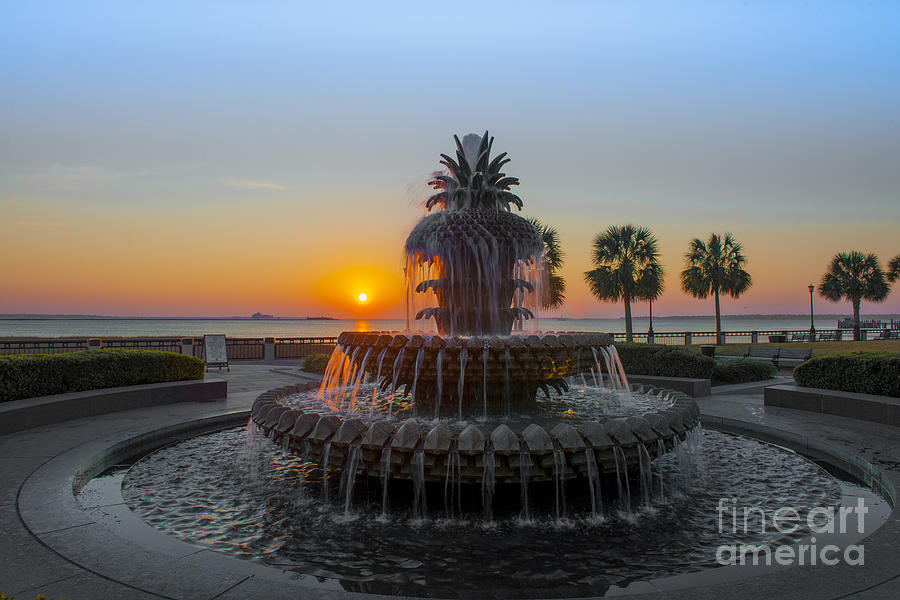 Sunrise Over Charleston Photograph