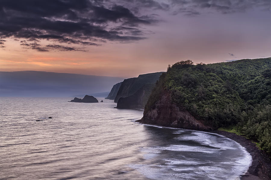Sunrise Over Pololu Valley Photograph