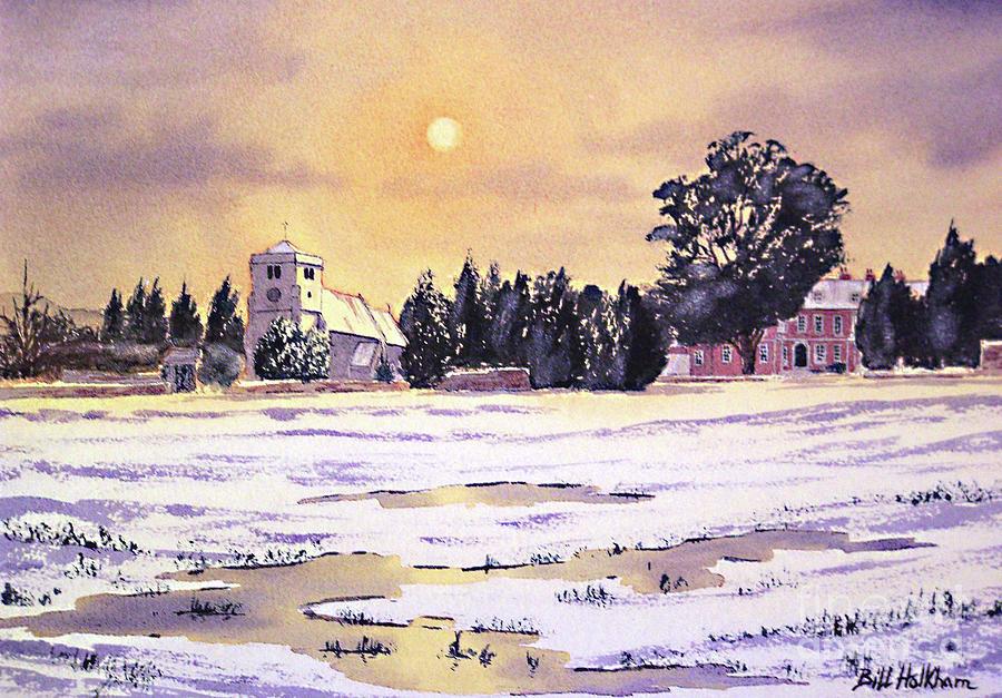 Sunrise Over St Botolphs Church Painting