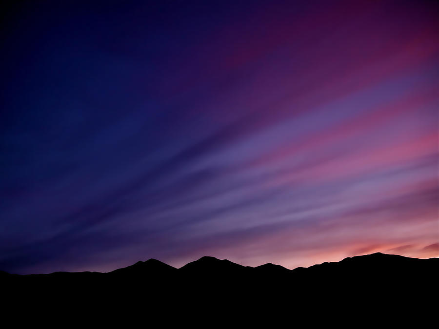Sunrise Over The Mountains Photograph  - Sunrise Over The Mountains Fine Art Print