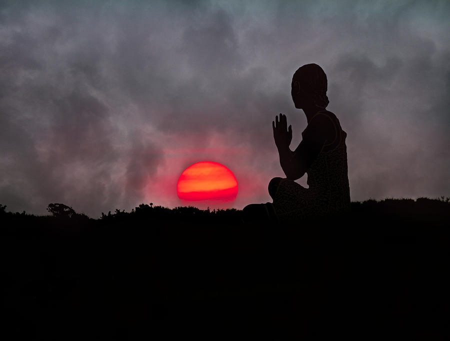 Sunrise Prayer Photograph  - Sunrise Prayer Fine Art Print