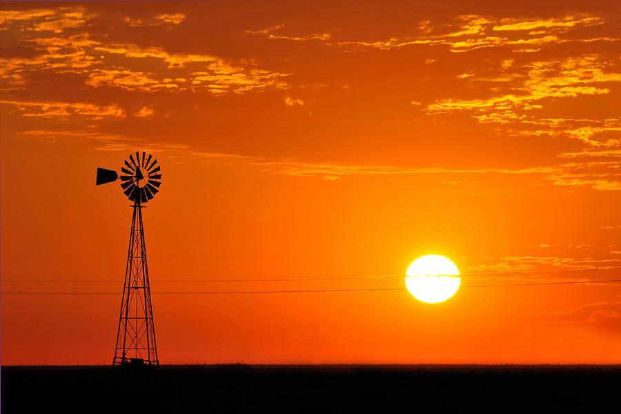 Sunset Photograph - Sunrise by Paul Van Baardwijk