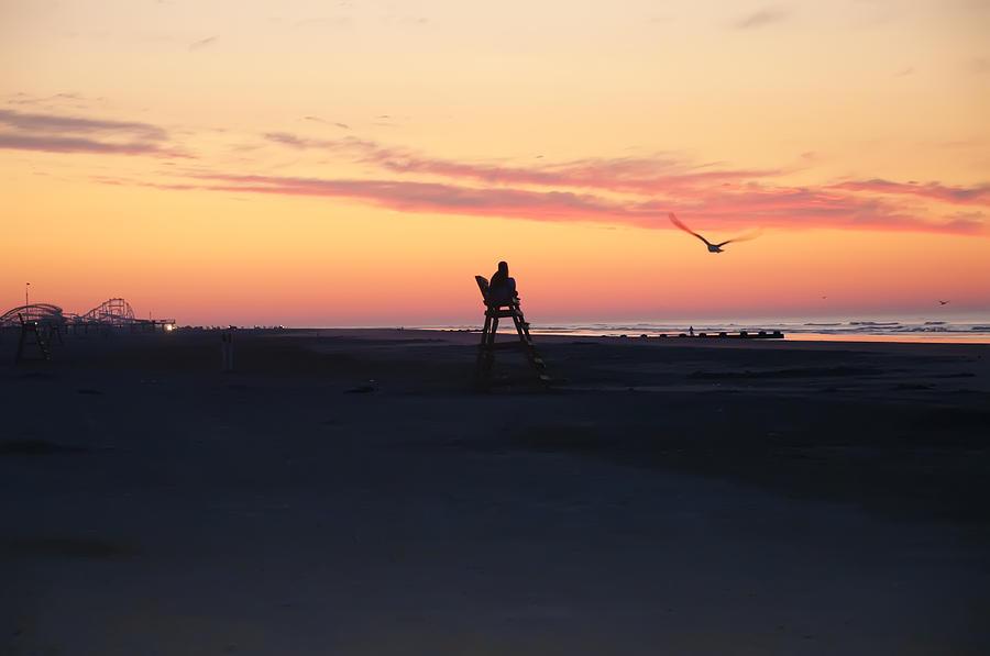 Sunrise Photograph - Sunrise Solitude by Bill Cannon