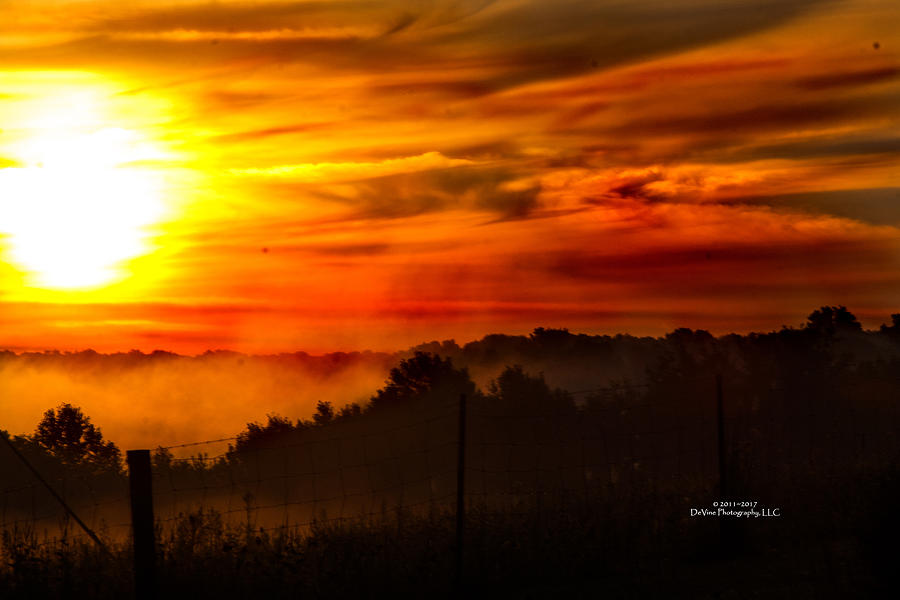 Sunrise Photograph - Sunrise by Stephani JeauxDeVine