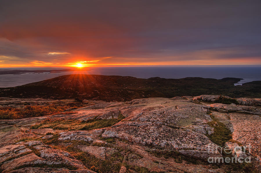 sunrise view from cadillac mountain is a photograph by oscar gutierrez. Cars Review. Best American Auto & Cars Review