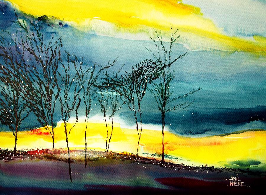 Sunset 3 Painting