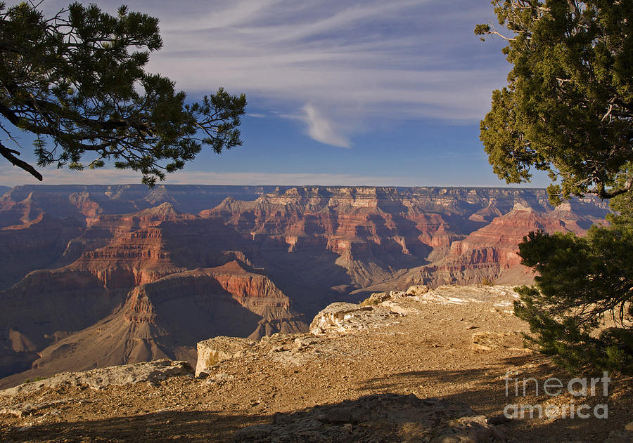 Sunset At The Grand Canyons Hopi Point Photograph