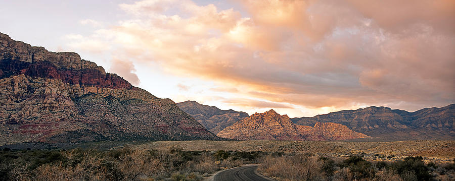 Sunset Canyon Drive Photograph  - Sunset Canyon Drive Fine Art Print