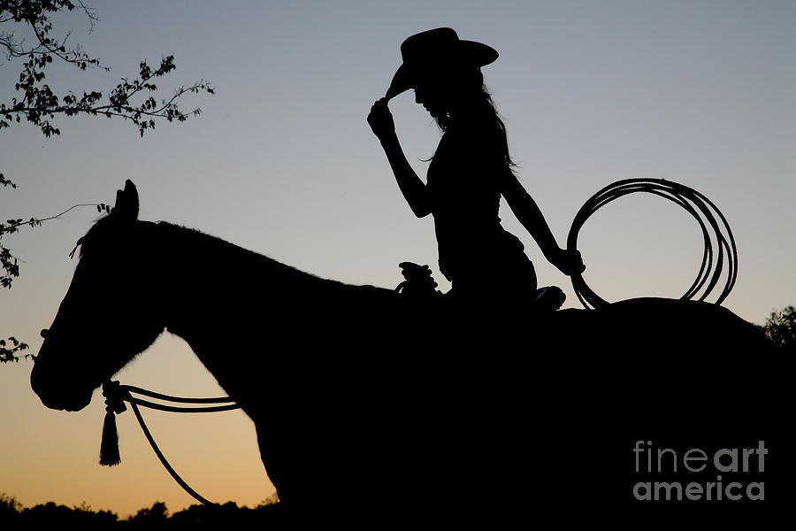 Cowgirls And Horses