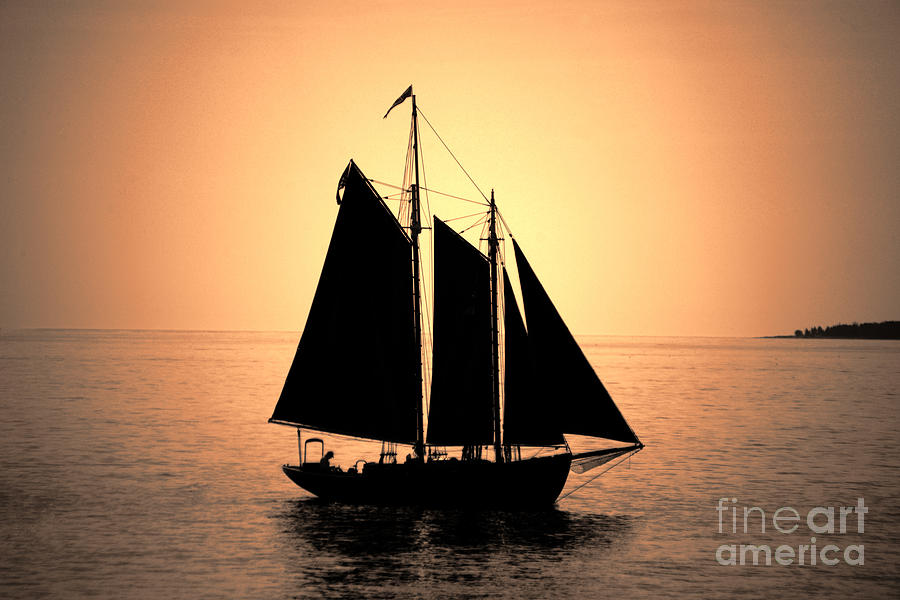 Sunset Cruise Photograph  - Sunset Cruise Fine Art Print