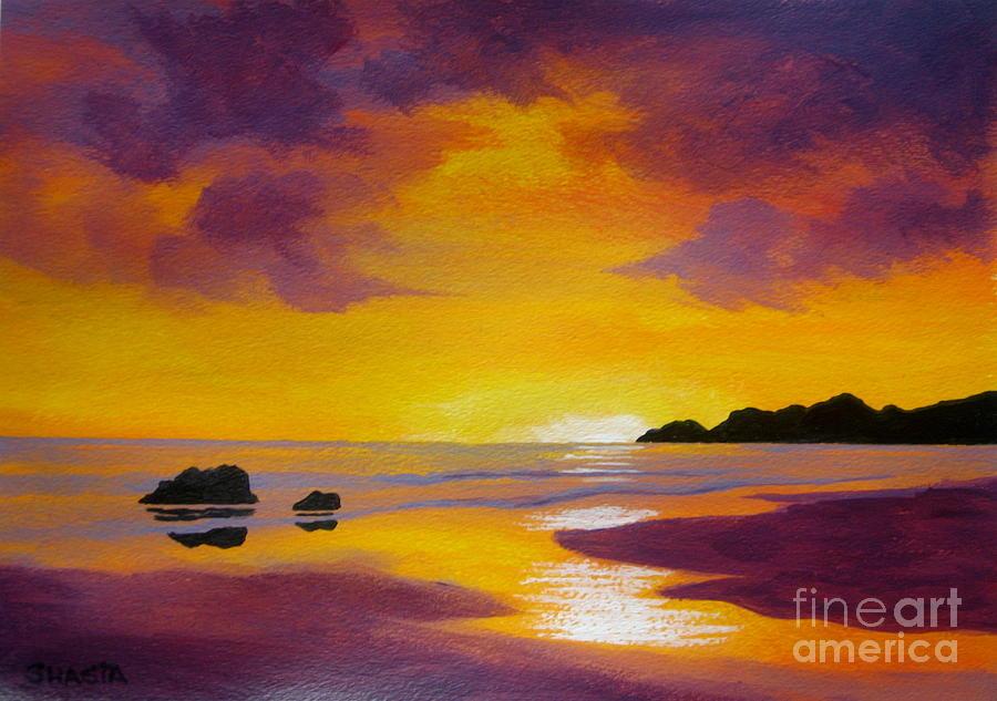 Sunset  Glory Painting