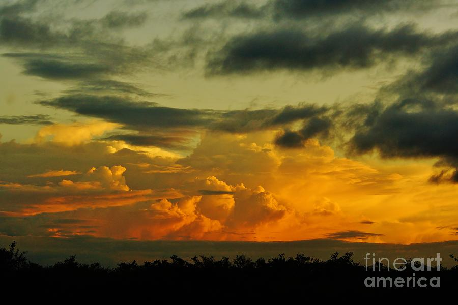Sunset Glow Photograph  - Sunset Glow Fine Art Print