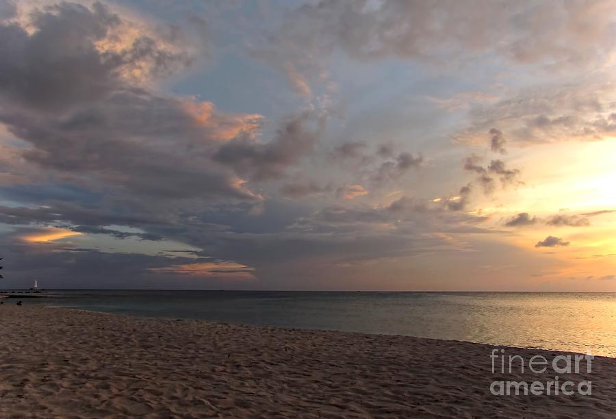 Sunset Grand Cayman Photograph
