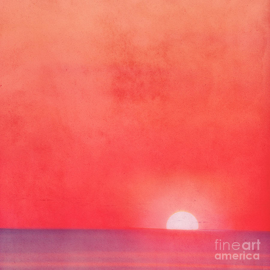 Sunset Impression Photograph