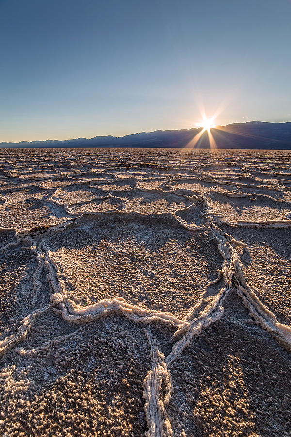 Sunset In Death Valley  Photograph