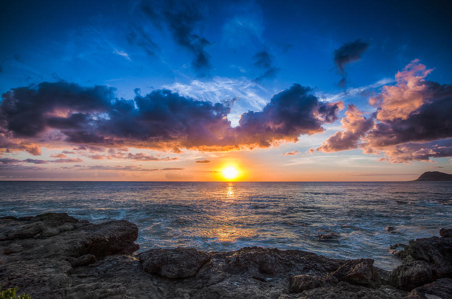 Sunset Photograph - Sunset In Paradise by Mike Lee