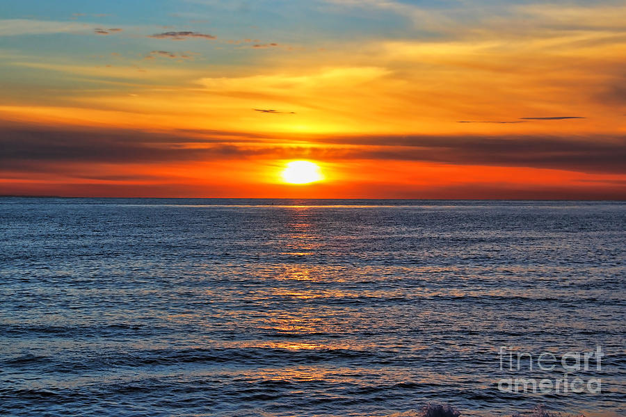 Sunset In San Clemente Photograph