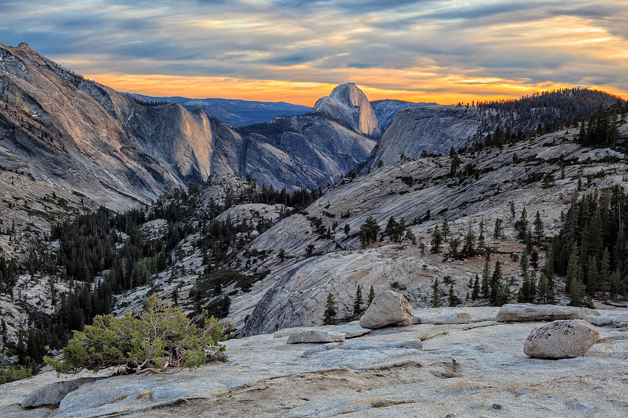 Sunset In Yosemite Photograph